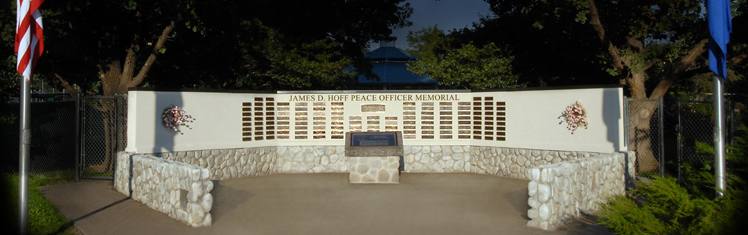 James D. Hoff Peace Officer Memorial In Idlewild Park, Reno, Nevada
